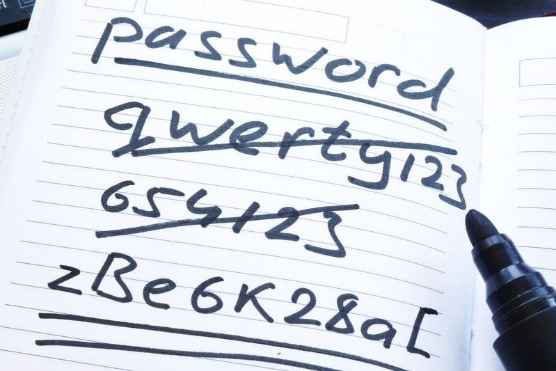 Secure those passwords!